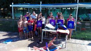 cierre campaña de verano en piscina municipal