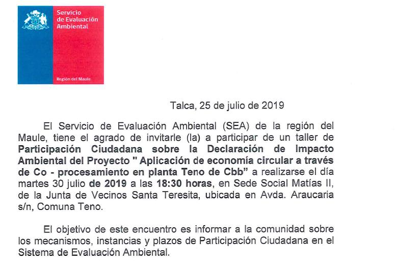 Alcaldesa Sandra Valenzuela invita a la comunidad a reunión de Participación Ciudadana