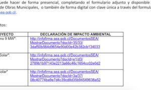 Oficina de Medio Ambiente Municipal invita a los vecinos a realizar solicitud PAC