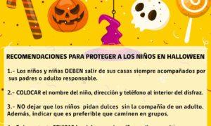 Recomendaciones básicas para un Halloween seguro