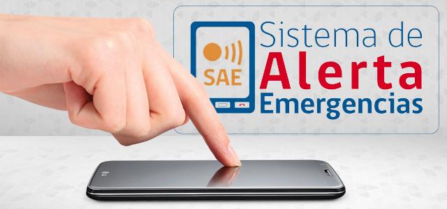 El Sistema de Alerta de Emergencias (SAE) de la Onemi es la herramienta utilizada por el organismo para informar a la población en caso de un desastre natural y así evitar o disminuir daños.